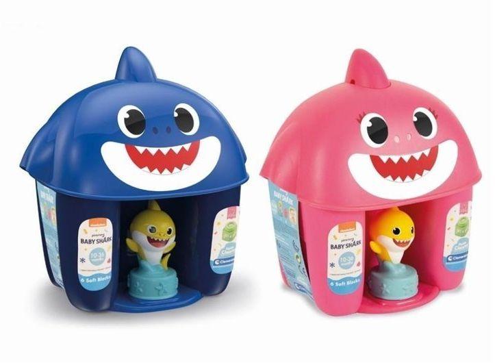 Clemmy Wiaderko Baby Shark z figurką - Clementoni
