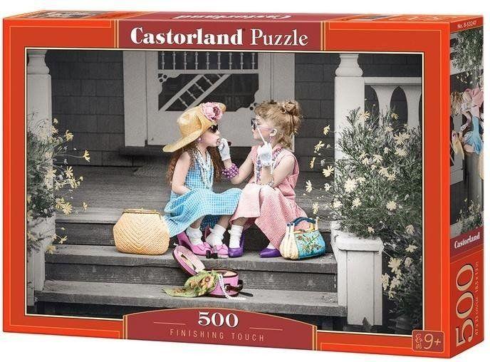Puzzle 500 Ostatnie muśnięcie CASTOR