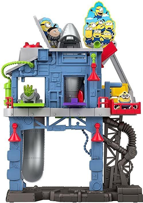 Fisher Price - Imaginext Minions: Rise of Gru Gru''s Gadget Lair Playset (DreamWorks)