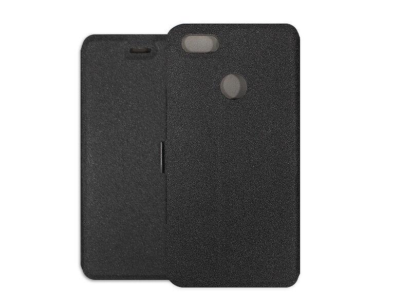 Huawei P9 Lite Mini - etui na telefon Wallet Book - czarny
