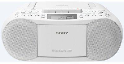 Radiomagnetofon SONY CFD-S70 Biały. Kup Taniej o 40 ZŁ w Klubie. Sprawdź!