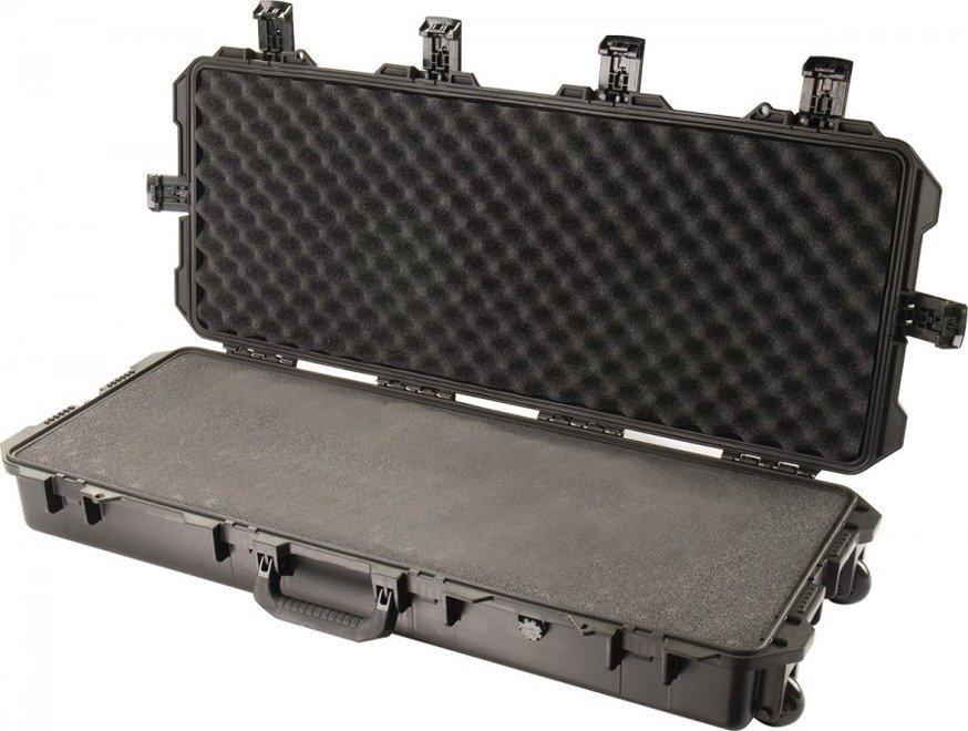 Skrzynia Peli IM3100 z gąbką - wodoodporna, pancerna skrzynia transportowa