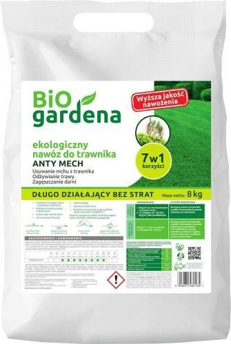Nawóz do trawników anty mech ECO 8 kg Bio Gardena