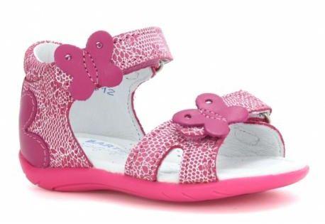 Bartek 31569 AAO sandały dziewczęce różowe