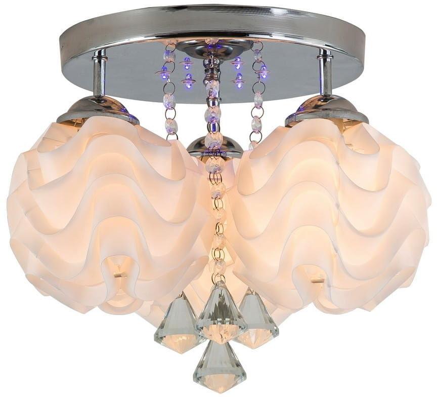 Plafon Sada 3 LP-119/3C Light Prestige elegancka lampa sufitowa w kolorze srebrnym