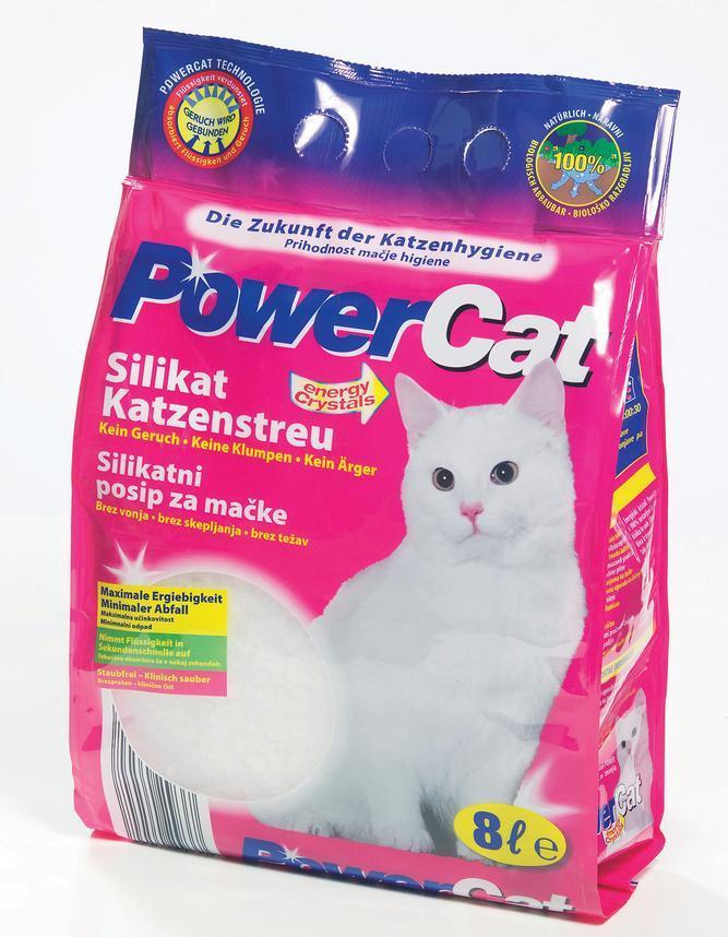 Żwirek Powercat silikonowy