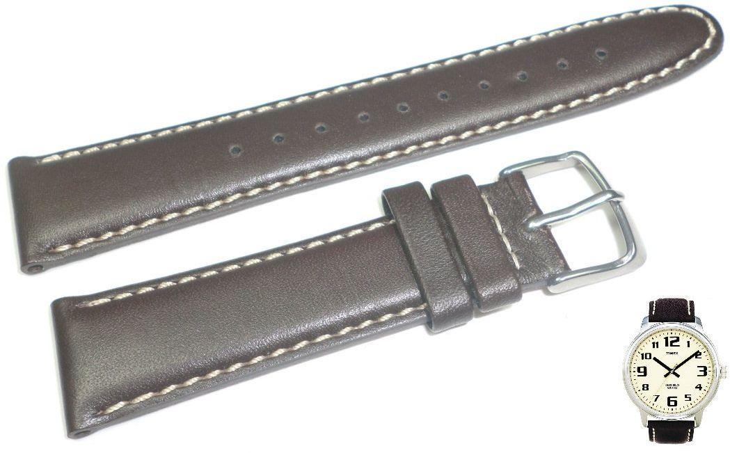 Pasek do zegarka Timex T28201 P28201 20 mm Skóra