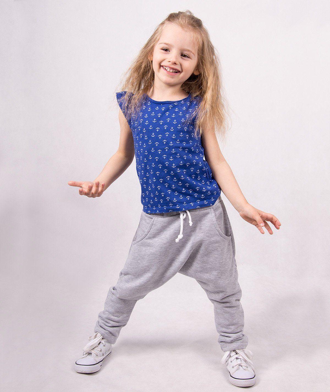 Dresowe spodnie dziecięce pumpy ''Mario''