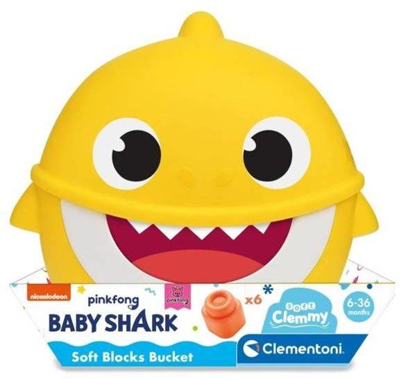Clemmy Wiaderko Baby Shark - Clementoni