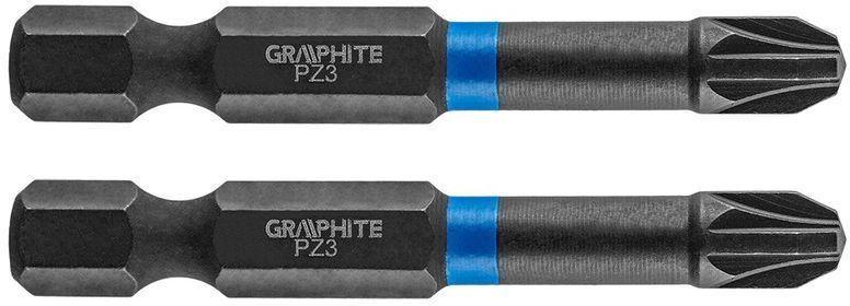 Bity udarowe PZ3x50mm 2szt. 56H523