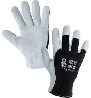 Rękawice robocze TECHNIK ECO wzmacniane skórą CXS