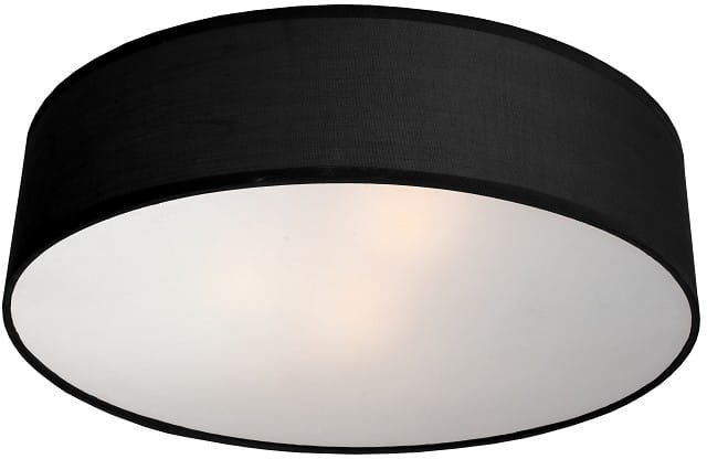Plafon Alto LP-81008/3C BK Light Prestige designerska lampa sufitowa w kolorze czarnym