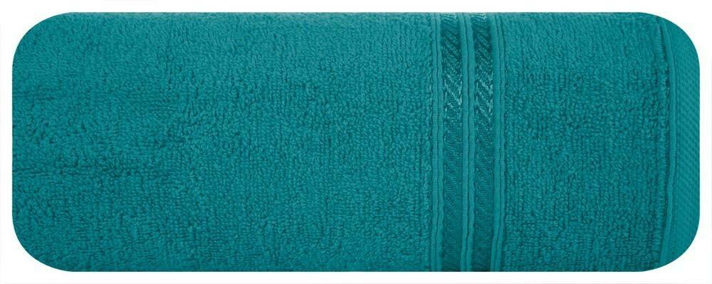 Ręcznik Lori 70x140 turkusowy jasny 450g/m2 Eurofirany