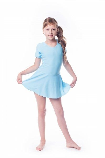 Kostium gimnastyczny ze spódniczką (b8) shepa