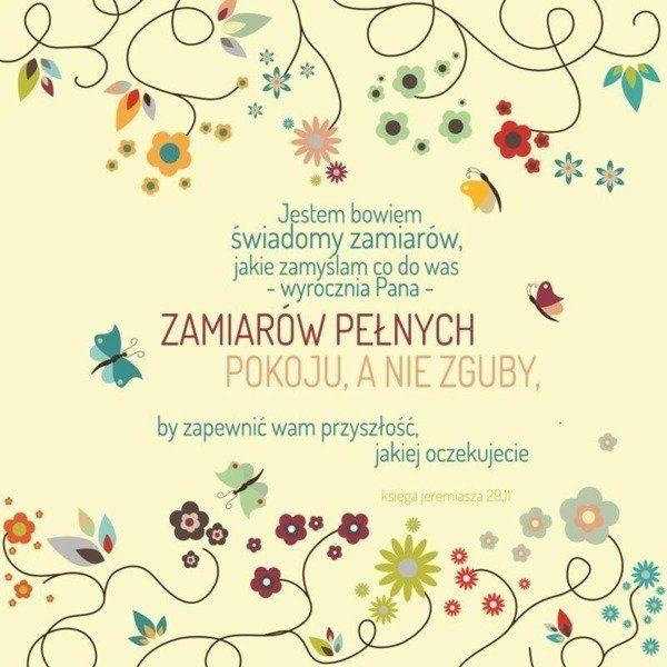 Podstawka korkowa - Jestem Bowiem kwiaty - Szaron