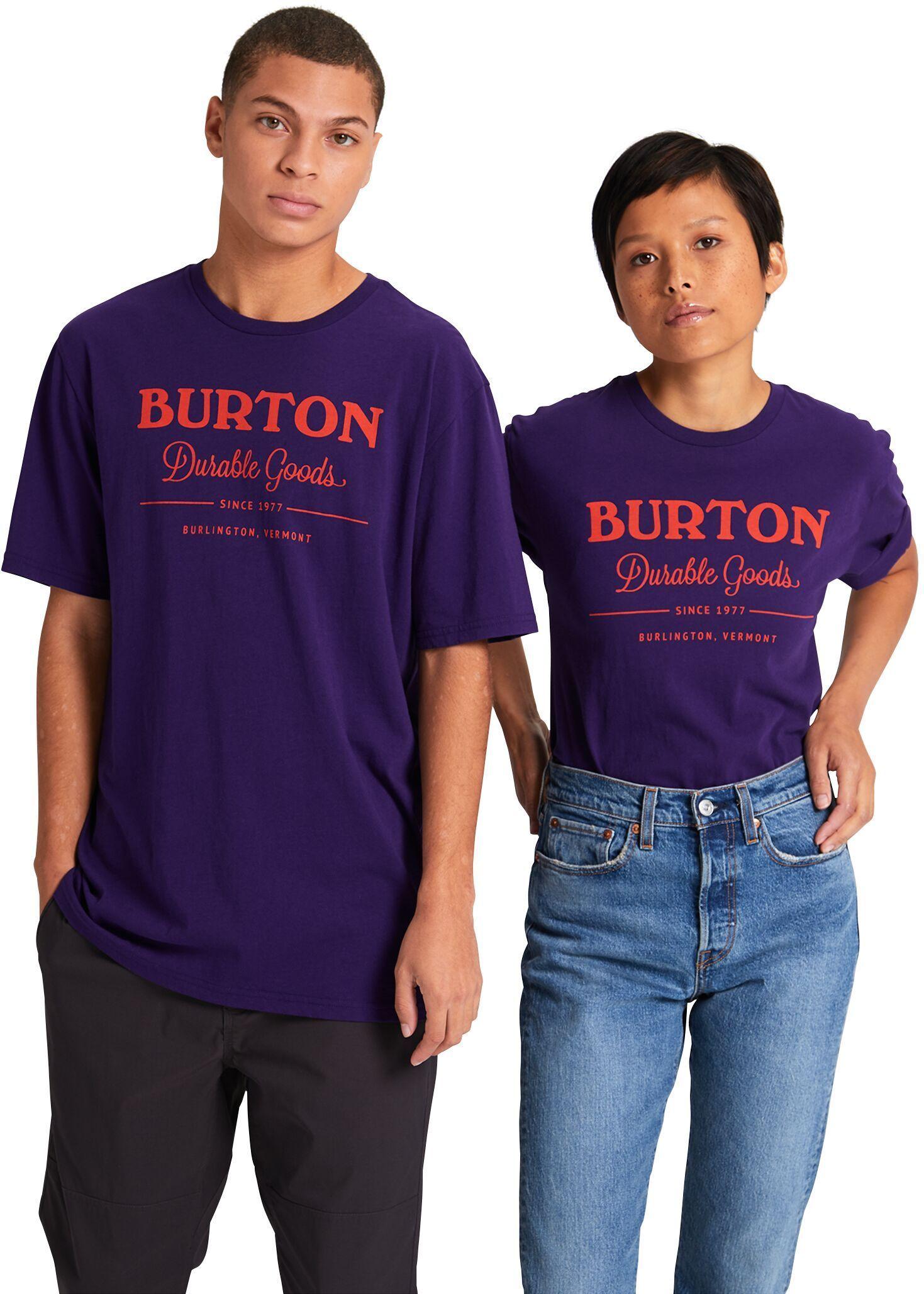 koszulka BURTON UA DURABLE GOODS SS Parachute Purple