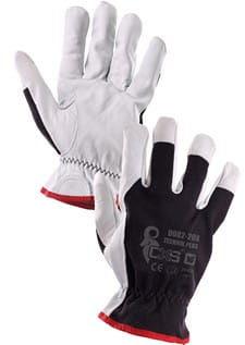 Rękawice robocze TECHNIK PLUS skóra licowa CXS