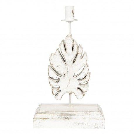 Lampa Stołowa w Stylu Prowansalskim Liść