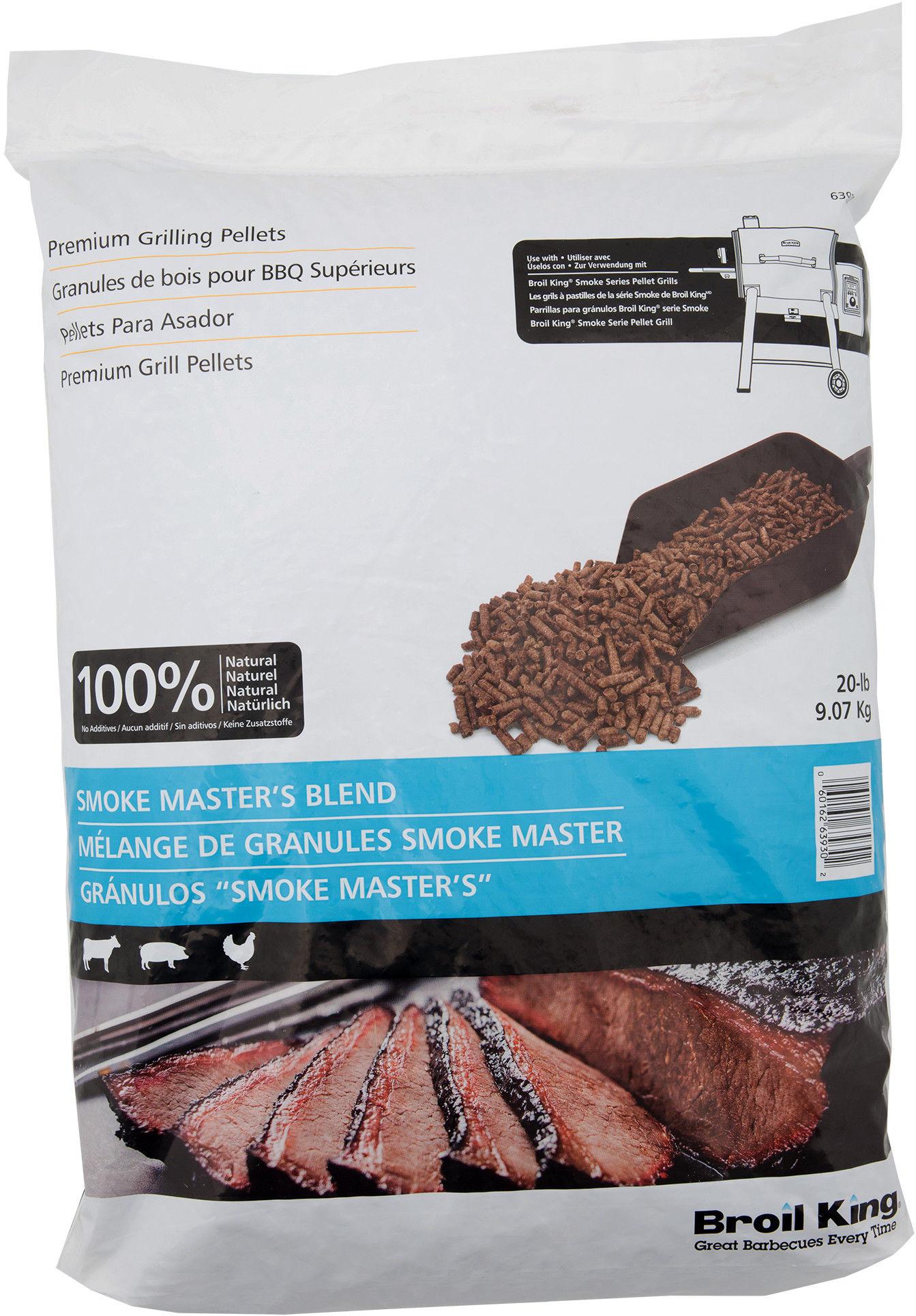 Pellet do wędzenia mieszanka Smoke Master''s 9 kg Broil King (63930) --- OFICJALNY SKLEP Broil King