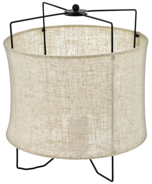 Lampa stołowa ZINA beżowa E27 INSPIRE