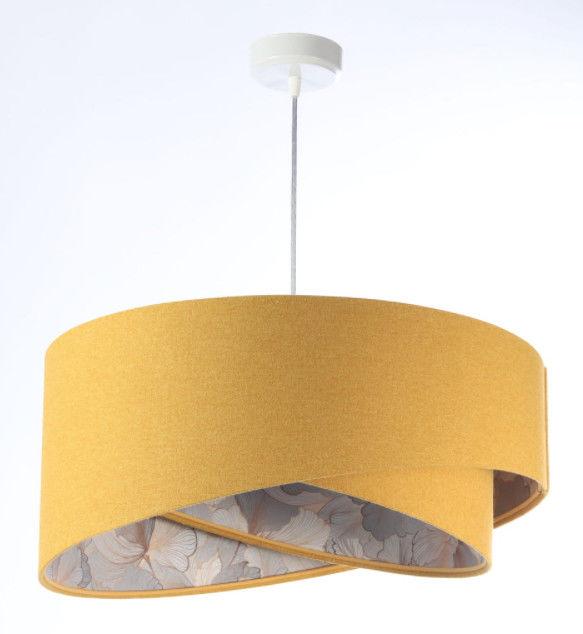 Lampa wisząca Awena Musztardowa