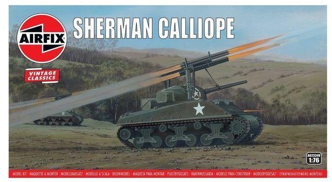 Sherman Calliope model do sklejania Airfix