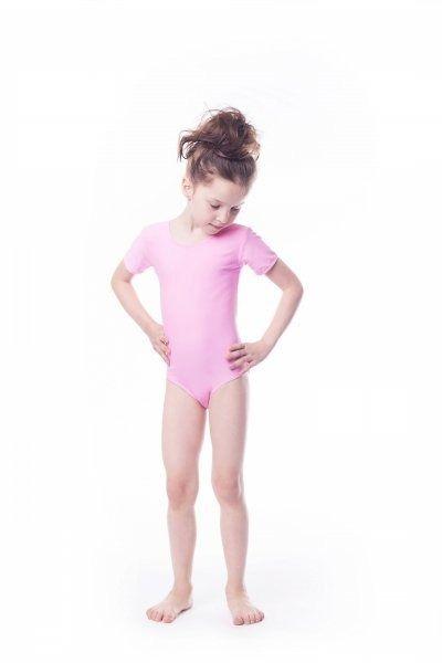 Body gimnastyczne lycra (b9) krótki rękaw shepa