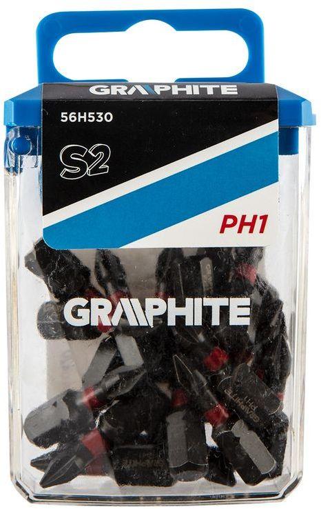 Bity udarowe PH1x25mm 20szt. 56H530
