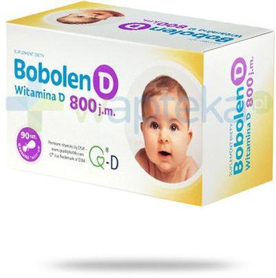 Bobolen D witamina D 800 90 kapsułek
