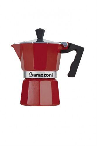Kawiarka LA CAFFETIERA Barazzoni czerwona