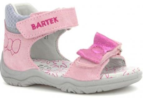 Bartek 31562-1FU sandały dziewczęce różowe