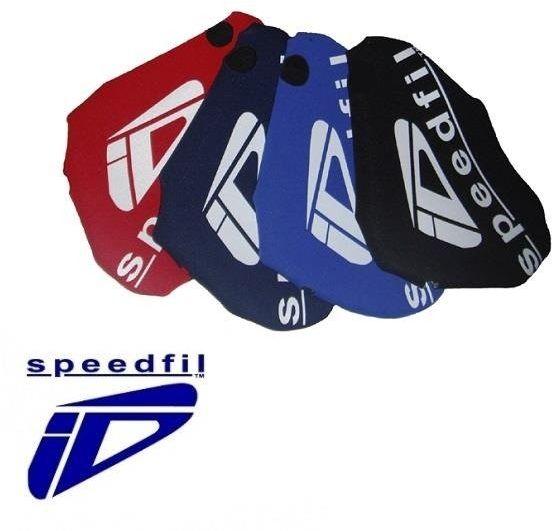 SPEEDFIL Ochraniacz na bidon aerodynamiczny Niebieski - Niebieski