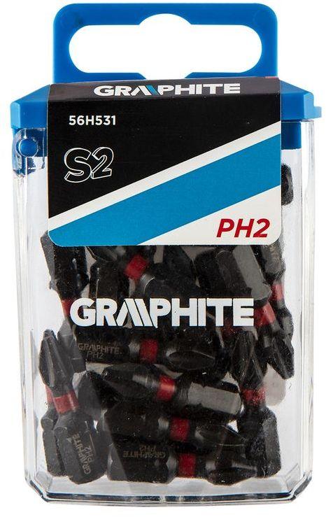 Bity udarowe PH2x25mm 20szt. 56H531