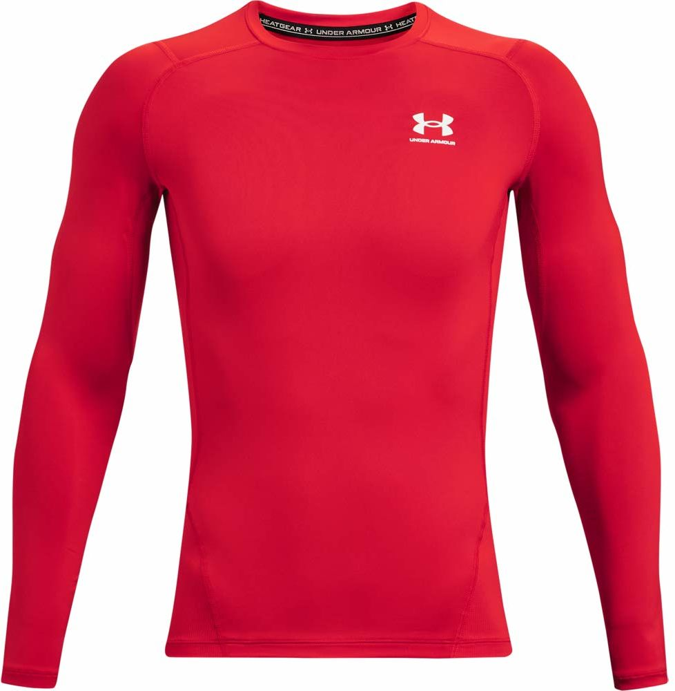 Under Armour Męska koszulka Heatgear Armour Compression z długim rękawem