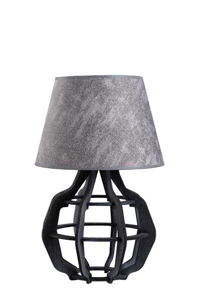 Designerska lampa stołowa BENTO 927 szary/szary śr. 30cm