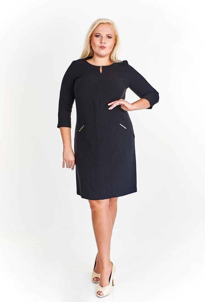 Sukienki Sukienka Suknie FSU799 CZARNY