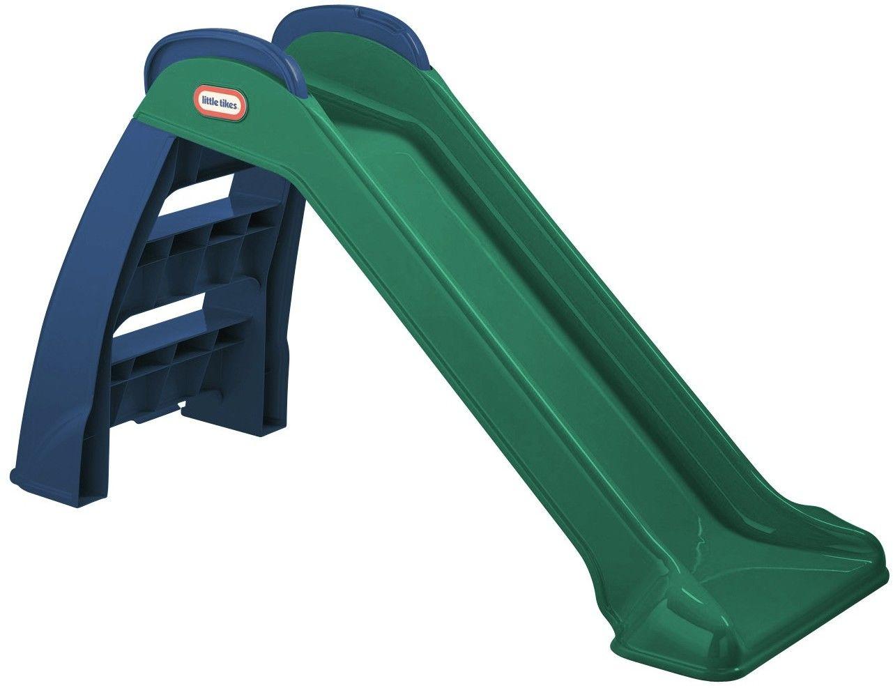 Little Tikes Zjeżdżalnia Ogrodowa First Slide Moja Pierwsza 95 cm Zielona