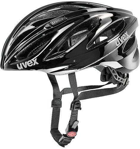 Uvex Boss Race Kask rowerowy czarny 41/0/229/03/17 Rozmiar: 52-56,41/0/229/03