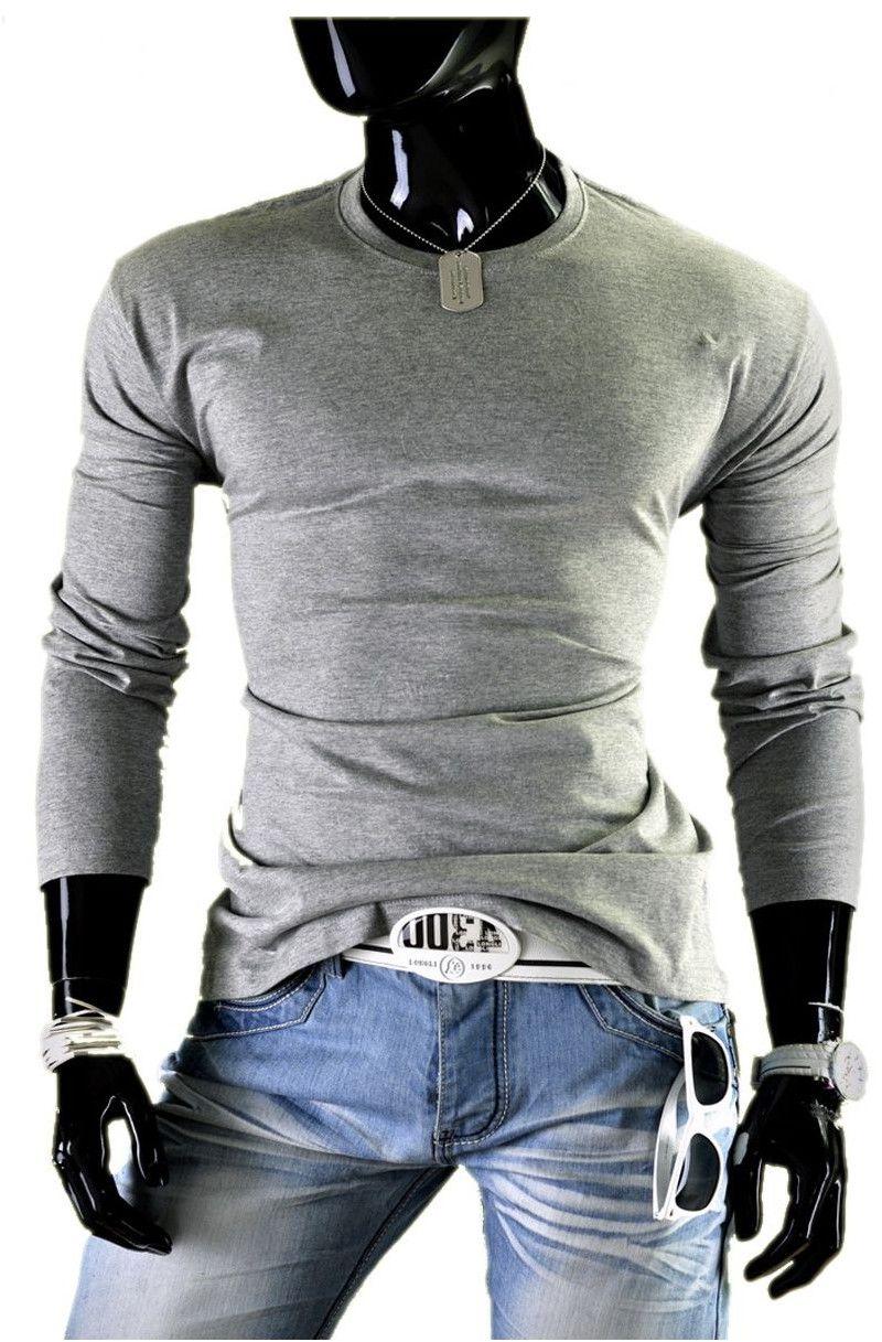Bluza męska JL5 - szara