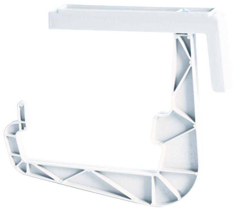 Uchwyt do skrzynek balkonowych IWWS biały