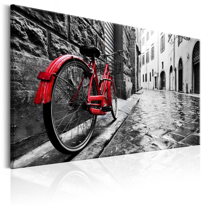 Obraz - vintage red bike