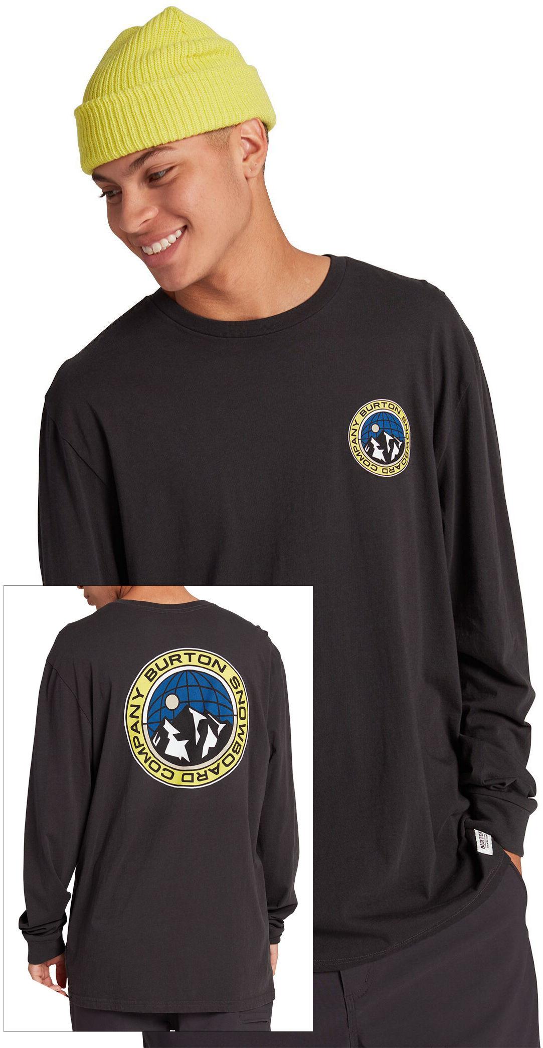 t-shirt męski BURTON WALGROVE LS Phantom