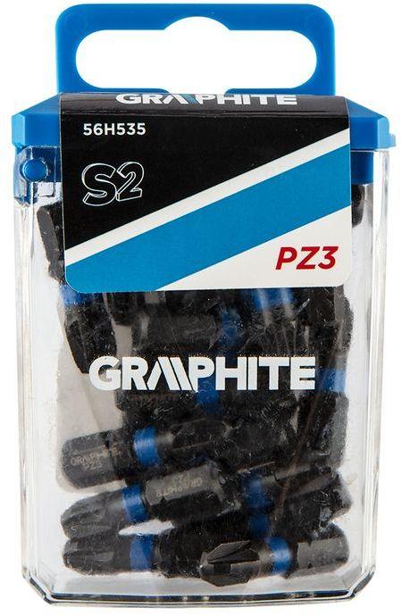 Bity udarowe PZ3x25mm 20szt. 56H535