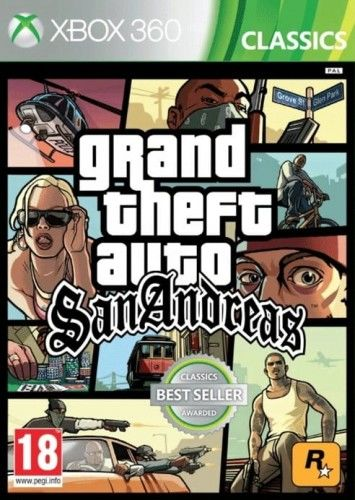 GTA San Andreas X360