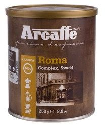 Arcaffe Roma - kawa mielona 250g puszka
