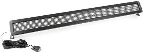 Cablematic LED znak elektroniczny 120 x 7 DisplayMatic z czerwonej i zielonej róży