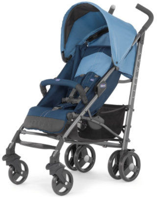 Chicco Spacerówka LiteWay Blue Chicco Spacerówka Niebieska