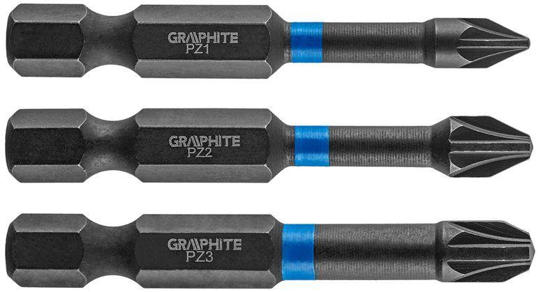 Bity udarowe PZ1 2 3x50mm 3szt. 56H542