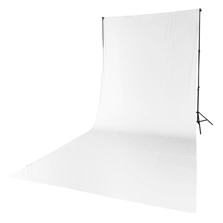 Tło tekstylne białe Quadralite 2,85m x 6m - WYSYŁKA W 24H