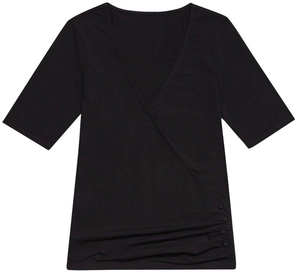 Bawełniana bluzka z marszczeniem